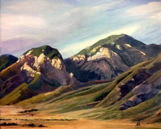 Wm Kelly Bailey; Taos Mountains, 2011, Original Painting Acrylic, 10 x 8 inches. Artwork description: 241 Taos Mountains, acrylic painting on canvas laid down on wood panel.  8x10 canvas, frame is 14x16.  Sold.  In a private Texas Collection. ...