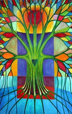 Wojtek Kowalski; Melancholy, 2003, Original Painting Oil, 88 x 137 cm. Artwork description: 241 colours colour artist self - taught person aborygen paintings silence quiet peace joy love freedom fulfilment happiness life depicting art painting galleries oil watercolour graphicartist' s pastels drawing pencil ink giclee tree' s nature woman  imaginations thought feeling imaginations cosmos uncertainty  rainbow psychodelizm surrealism primitiveness subconscious ...