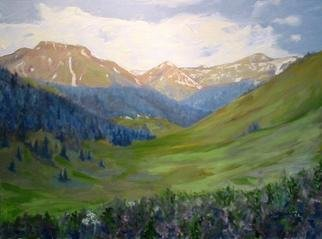 Henry Woody Lindenmeyr; CB Side Of West Maroon Pass, 2005, Original Painting Oil, 24 x 18 inches. Artwork description: 241 The artist has captured a magnificant Colorado view from the west side of West Maroon pass. This is a popular hike from Crested Butte to Aspen....