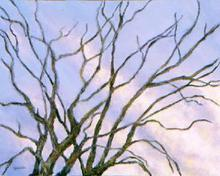 Artist: Yoshika Murakami's, title: Cold Winter Day, 2003, Mixed Media