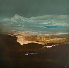 Artist: Nicholas Down's, title: The Long View, 2014, Painting Oil