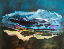 Artist: Nicholas Down's, title: The Promise of Altitude, 2014, Painting Oil