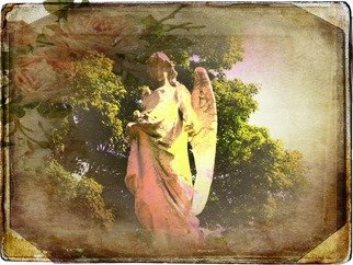 Zunilda Sarete; Guard The Heart, 2010, Original Photography Other,   inches. Artwork description: 241   Angel statue photomanipulation using texture and love quotes.  ...