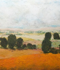Artist: Allan P Friedlander, Artwork Title: 45 Acres, 2015-09-02. Painting Acrylic, Landscape, $2,599