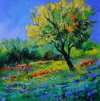 Pol Ledent, An Oak In Texas , Landscape, $ 945