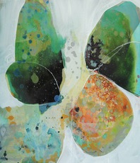 Artist: Elizabeth Barber Leventhal, Artwork Title: Breeze 3, 2015-05-03. Painting Oil, Abstract, $1,260