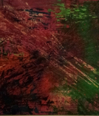 Artist: Susan Cantor-Uccelleti, Artwork Title: Fire On The Prairie, 2016-02-03. Painting Acrylic, Abstract, Request Price