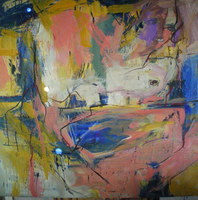 Artist: Edgar Bonne, Artwork Title: Metamorphis, 2015-01-25. Painting Oil, Abstract, Request Price