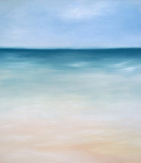 Artist: Edward Misak, Artwork Title: Next Summer, 2016-04-26. Painting Oil, Seascape, $220