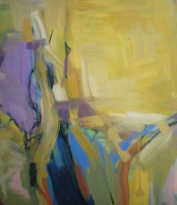 Artist: Edgar Bonne, Artwork Title: Ochre I, 2015-09-03. Painting Oil, Abstract, Request Price