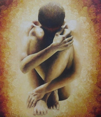 Artist: Trisha Lambi, Artwork Title: Rebirth, 2015-09-01. Painting Oil, Figurative, $2,310