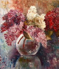 Artist: Vladimir Volosov, Artwork Title: Sign Of The Spring , 2016-04-26. Painting Oil, Impressionism, $1,260