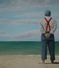 Artist: Peter Seminck, Artwork Title: Still Waiting For Bonnie, 2016-04-28. Painting Oil, People, $3,675