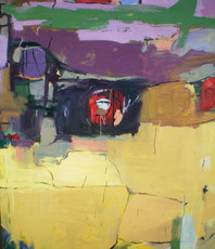 Artist: Edgar Bonne, Artwork Title: Sunday In Sandy, 2015-04-18. Painting Oil, Abstract, Request Price