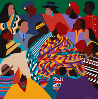Artist: Synthia Saintjames, Artwork Title: The International Decade, 2015-01-19. Reproduction, Figurative, $998