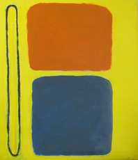 Artist: Jan-Thomas �lund, Artwork Title: Yellow Composition No 2, 2015-04-25. Painting Acrylic, Abstract, $840