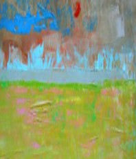 Artist: Emilio Merlina, Artwork Title: A Strip Of Peace, 2015-05-22. Painting Oil, Fantasy, Request Price