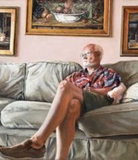 Artist: John Gamache, Artwork Title: Artist At Rest, 2018-09-13. Painting Oil, Representational, $7,350