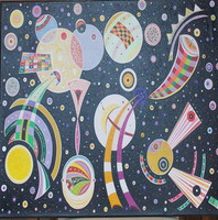 Matthew Thompson, Cosmic Glory, Abstract, $ 5,250