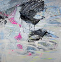 Artist: Alkistis Wechsler, Artwork Title: Freedom Love, 2015-01-25. Painting Oil, Fantasy, $1,260