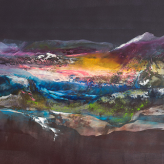 Nicholas Down, Exquisite Wilderness, Abstract Landscape, Request Price