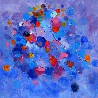 Pol Ledent, Happy Planets, Abstract Figurative, $630