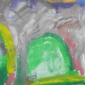 John Sims, Heat Broke Today, Abstract Landscape, $ 262