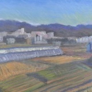 Tomoe Nakamura, Looking At My Town, Landscape, $ 315