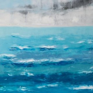 Marino Chanlatte, Ocean 69, Abstract, $ 3,045