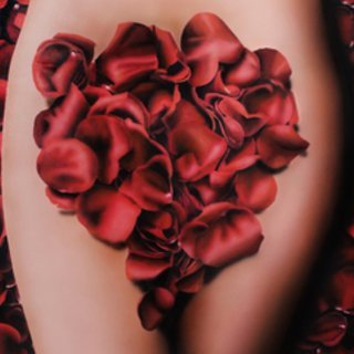 Ivan Pili, Red Petals, Figurative, $3,675