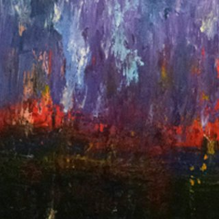 Susan Cantor-Uccelleti, Twilight, Abstract, $998