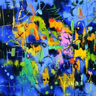 Pol Ledent, Urban Feast, Abstract Figurative, $ 788