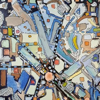 Dave Martsolf, Urban Planning, Abstract, $341