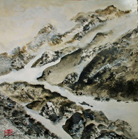 Walther Von Krenner, Mountains Of The Mind, Abstract, $ 2,520