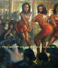 Ron Anderson, The Four Divas, Figurative, $ 12,096