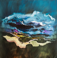 Nicholas Down, The Promise Of Altitude, Abstract Landscape,  Request Price