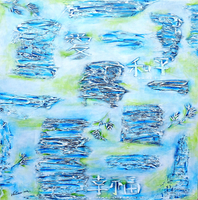 Nathalie Marino, Zenitude, Abstract, $ 609