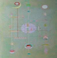 Matthew Thompson, Peace And Meditation , Abstract, $ 5,250