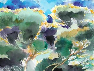 Alessandro Andreuccetti Artwork Ginestre 2, 2003 Leather, Landscape