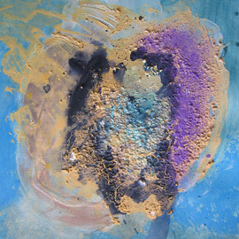 Andrei Autumn Artwork Improvisation No13 aka Brain in Colour, 2004 Acrylic Painting, Abstract