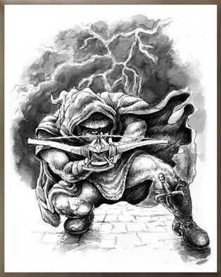 Marcin Rudnicki Artwork assasin, 2007 assasin, Fantasy
