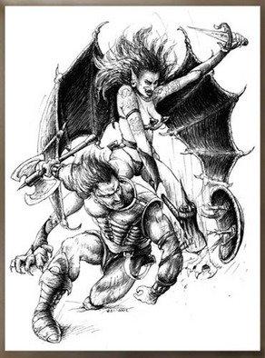 Marcin Rudnicki Artwork succubi, 2007 succubi, Fantasy