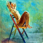Nude on chair By Lawrence Buttigieg