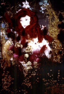 Collage by Stephanie Hayden titled: Persephone, 2002