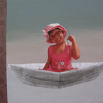 imagination of little girl 1 By Nabendu Roy