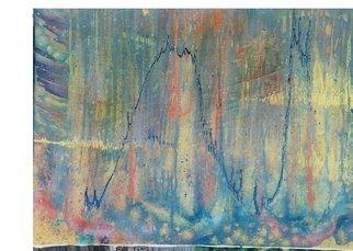 Artist: Zlatko Turkmanovic - Title: abstract 8 - Medium: Oil Painting - Year: 2003