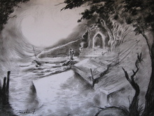 - artwork indian_landscape-1296971329.jpg - 2011, Drawing Charcoal, undecided