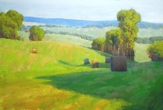 Armand Cabrera: 'Along Rectortown Road', 2010 Oil Painting, Landscape.  This beautiful scene is located in Northern Virginia, not far from where I live.   ...