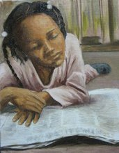 - artwork Young_Reader_2-1315651581.jpg - 2011, Painting Oil, Figurative