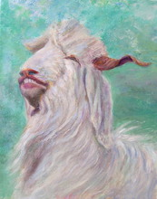 - artwork Goat_2-1235876506.jpg - 2009, Painting Acrylic, Figurative